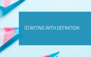 Starting with definition
